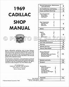 1939 cadillac wiring diagram 1969 cadillac repair shop manual reprint
