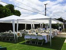 peaktop 174 10 x 30 heavy duty outdoor gazebo wedding party