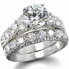 fantasy jewelry box s fancy faux cz wedding ring