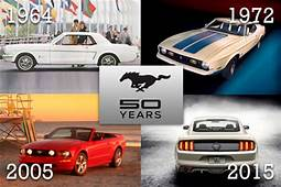 Ford Mustang Turns 50 A History In Pictures  US News