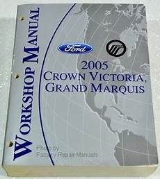 old car owners manuals 2005 ford crown victoria head up display 2005 ford crown victoria mercury grand marquis factory shop service manual factory repair