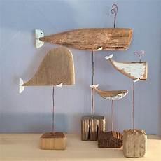 Wale Aus Treibholz Schule Holz Treibholz Fisch Und