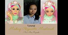60 Tutorial Make Up Pengantin Muslim Modern Dismakeup