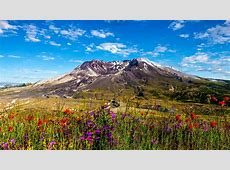 Wallpaper Mount St. Helens, Stratovolcano, Washington, HD