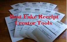 best fake receipt creator tools 2019 for gas hotel atm