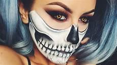 Totenkopf Schminken Frau - skull makeup chrisspy