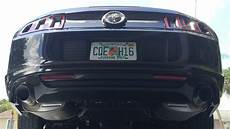 2014 ford mustang v6 stock exhaust sound