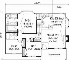3 bedroom country house plans 3 bedroom 2 bath country house plan alp 09zs