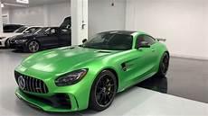 2018 Mercedes Amg Gtr Green Hell Revs Walkaround 4k