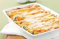 Cannelloni Spinat Ricotta - spinach and ricotta cannelloni