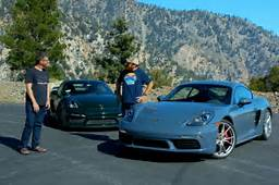 Can The 2017 Porsche 718 Cayman S Beat GT4 Find Out