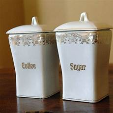 vintage ceramic kitchen canisters vintage german ceramic canisters coffee sugar by