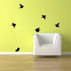 Bird Wall Stickers birds wall decal 6 birds flying free shipping bird vinyl