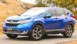2018 Honda CRV Blue  Car US Release