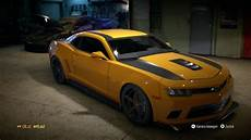 Chevrolet Camaro Tuning Bumblebee Nfs 2015 For Pc