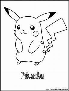 Malvorlagen Pikachu Pikachu Coloring Page Pok 233 Mon