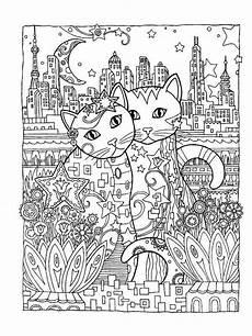 malvorlagen erwachsene katzen