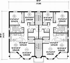 multiplex house plans multiplex plan chp 37375 at coolhouseplans com apartment