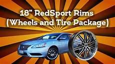 2014 nissan sentra 18 quot redsport rims wheels and tire