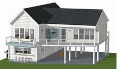 small beach house plans on pilings awesome beach house plans pilings 16 pictures home plans