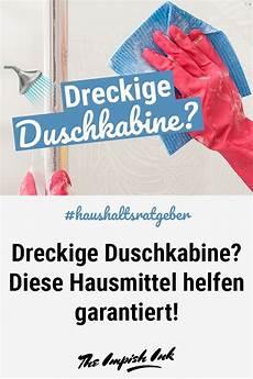 Dreckige Duschkabine Ade Ob F 252 R Glas Kunststoff Flie 223 En