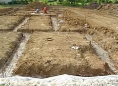 Construire Des Fondations D Une Maison Individuelle