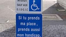 D 233 Sormais Les Handicap 233 S N Ont Plus 224 Payer Leur Parking