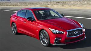 2018 Infiniti Q50  Top Speed
