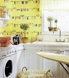 Laundry Room Wallpaper Ideas