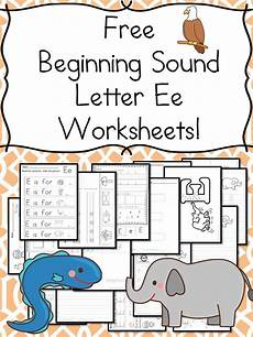 letter e beginning sounds worksheets 24099 pin on mrs karle s sight and sound reading