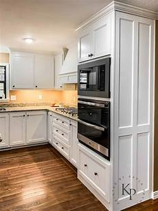 kitchen cabinets in sherwin williams dover white painted by payne