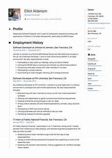 guide software developer resume 12 sles word pdf 2019