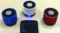 beatbox s10 mini bluetooth speaker made in china test