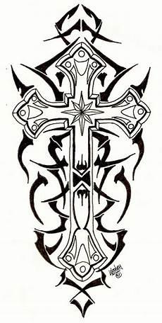 tribal cross by designbyry on deviantart