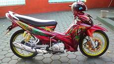 Jupiter Z1 Modif by Modifikasi Jupiter Z1 Terbaru Racing Drag Velg Jari Jari