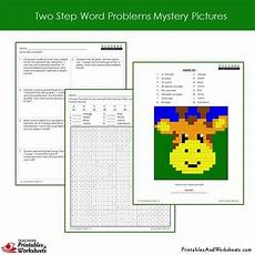 2 step word problems worksheets 2nd grade 11434 2nd grade two step word problems mystery pictures coloring worksheets printables worksheets