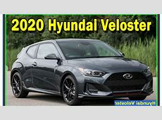 2020 Hyundai Veloster Review   interior and exterior   YouTube