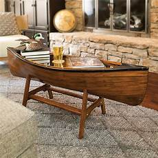 canoe lodge coffee table