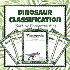dinosaur characteristics worksheets 15288 paleontology unit study dinosaur classification sorting mats sorting mats study unit