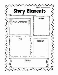 common core aligned reading response printables plus freebies story elements worksheet