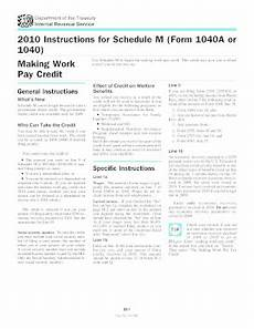 2010 1040 publication schedule m fill online printable