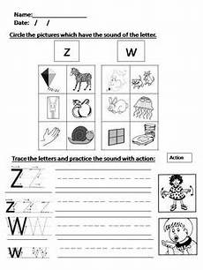 phonics worksheets 5 6 z w ng v oo y sh ch th by mrs ouri