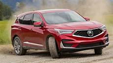 2019 acura rdx advance sh awd off road course performance red pearl youtube