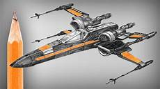Malvorlagen Wars X Wing Wars X Wing New Type Pencil Drawing