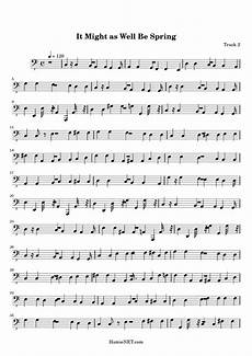 it might as well be spring sheet music it might as well be spring score hamienet com