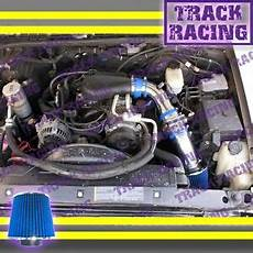 chevy s10 sonoma blazer jimmy 96 97 05 chevy s10 zr2 zr5 blazer sonoma jimmy 4 3l v6 cold air intake kit blue ebay