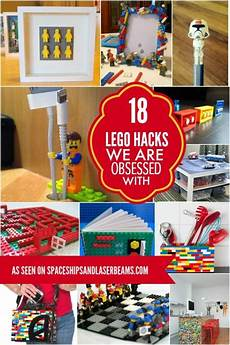 18 lego hacks we are obsessed with spaceships and laser