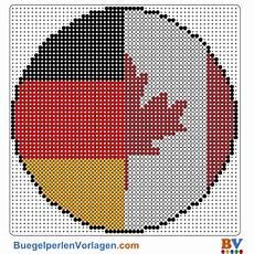 b 252 gelperlen vorlagen der flagge kanada deutschland zum