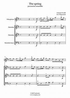 Vier Jahreszeiten Malvorlagen Spielen Schlaginstrumente Musiknoten Die Vier Jahreszeiten