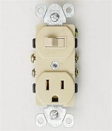 light switch and outlet single pole 15 outlet toggle ivory light switch receptacle combo ebay